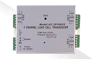 AC-2019AD3三通道荷重元轉換器|至衡實業