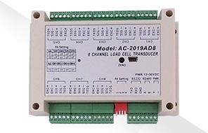 AC-2019AD8-八通道荷重元轉換器|至衡實業
